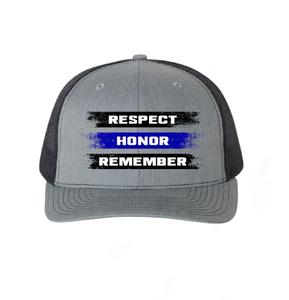 ReLEntless Defender Respect - Honor - Remember  Snapback Hat